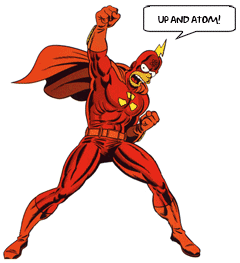 Radioactive Man: Up and Atom!